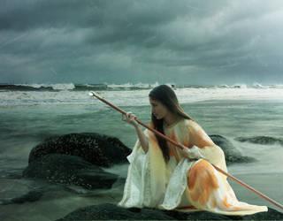 Sky Sorceress by TimeTraveler2