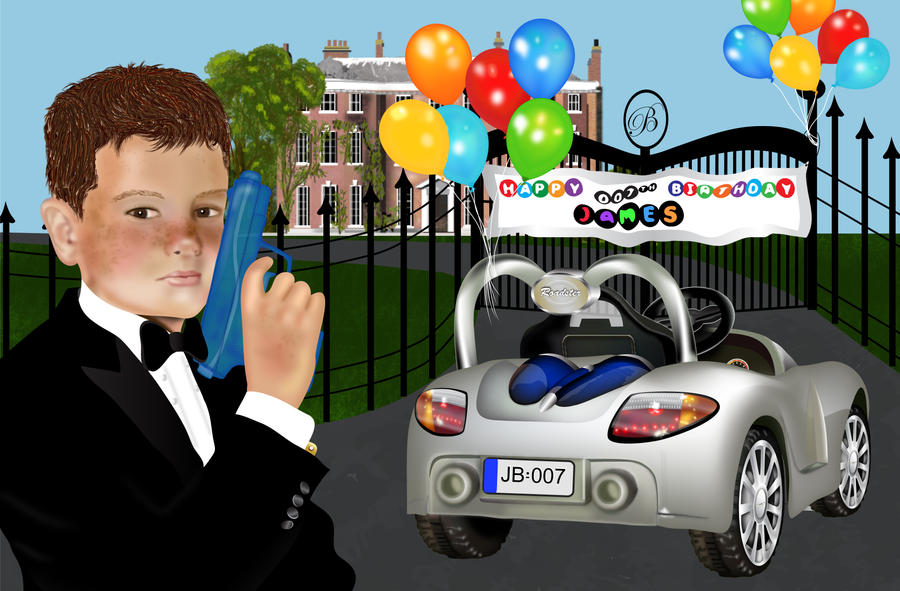 James Bond's 007 Birthday Memory by pbeebe