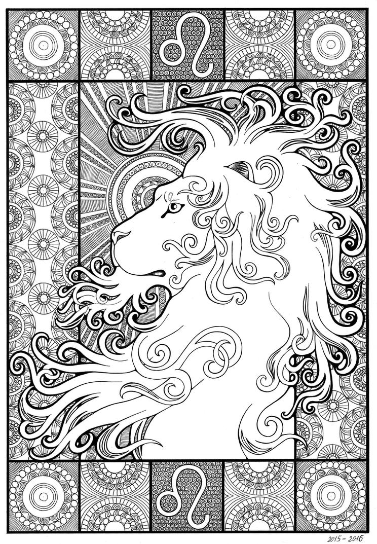 leo (lion) by Oladara