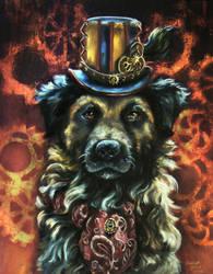 Steampunk Puppy by Vinganita