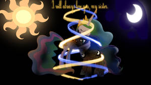 Luna and Celestia - Eternal love Improved version.