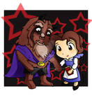 Disney Couple: Beast and Belle