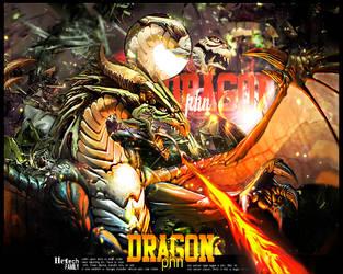 Dragon by htFamily