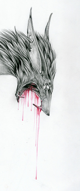 The monster inside of me by kizmaus
