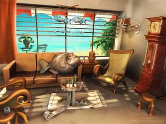 Beach cafe by maxon