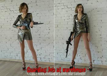 Guarding Job at Warehouse by MartaModel