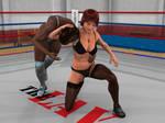Vanessa Hunter vs Larien Parker 1A