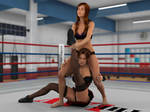 Anne Carter vs Kelly Montana 3B