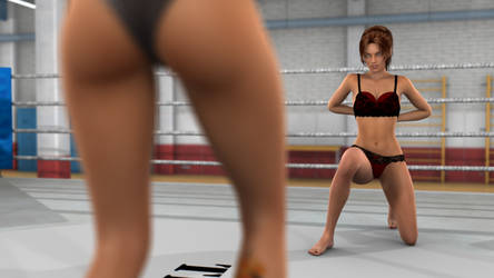 Anne vs Naomi 07 by PhoenixCreed