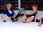 Sarah Vs Terrie 2A by PhoenixCreed