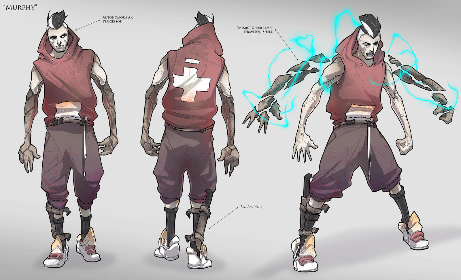 Sci Fi Character Design Tutorial : Character concept murphy by brotherbaston on deviantart