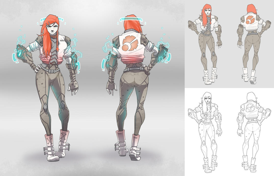Character Design Challenge Concept : Character concept tara by brotherbaston on deviantart