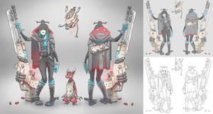 Character Concept / Ashirai