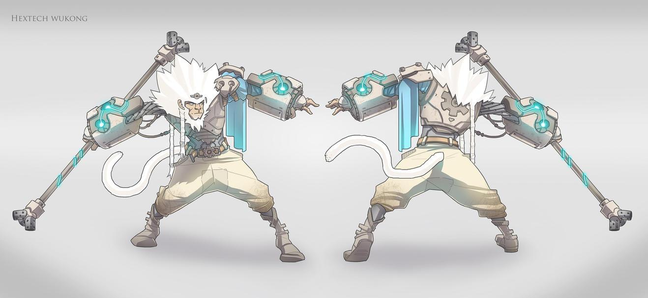 Hextech Wukong by BrotherBaston