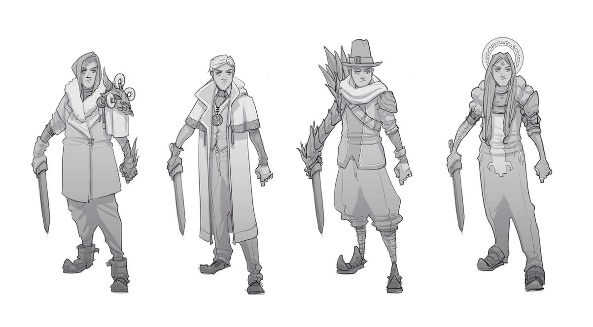Outfit Variations by BrotherBaston