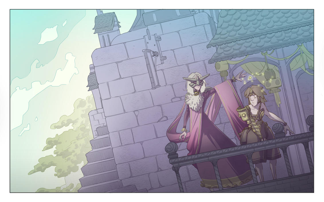 A Land Called Tarot - Fan Art by BrotherBaston