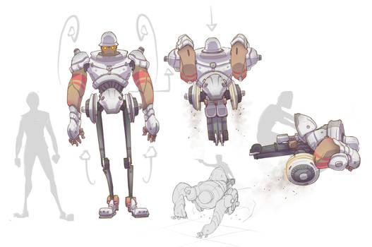 X Bot Protopod