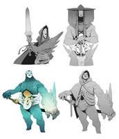 World Building / Days 28-29 : Swordbeasts 2