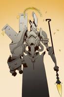 Mecha Athena by BrotherBaston