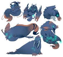 Sea Creatures by BrotherBaston