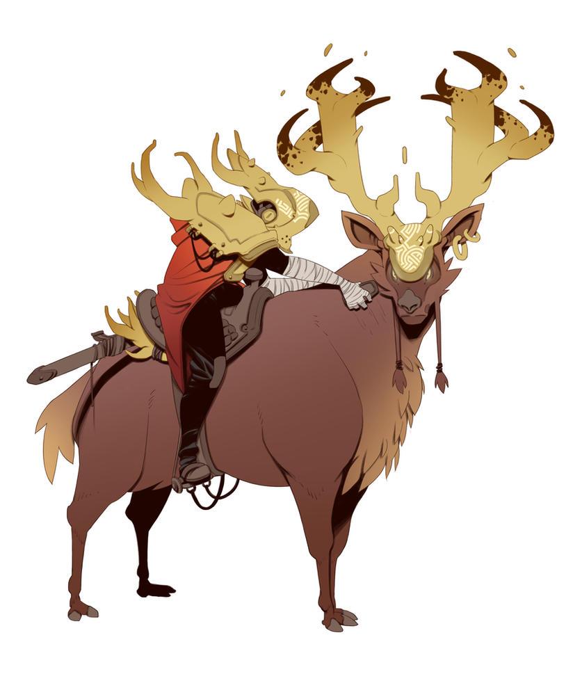 Deer Knight by BrotherBaston