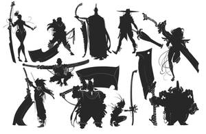 Blade Silhouettes