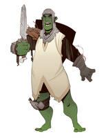 Half-Orc by BrotherBaston
