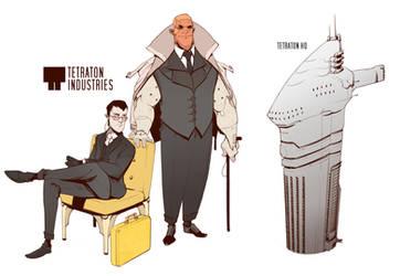 Tetraton Industries by BrotherBaston