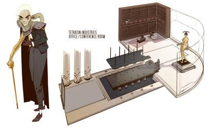 Tetraton Board Room by BrotherBaston