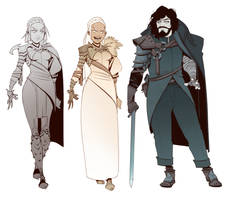 Daenerys Targaryen / Jon Snow Redesigns