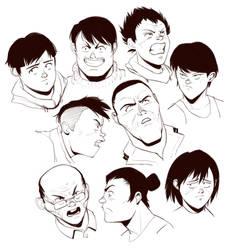 Otomo Style Study