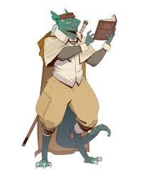 Dragonborn Scholar