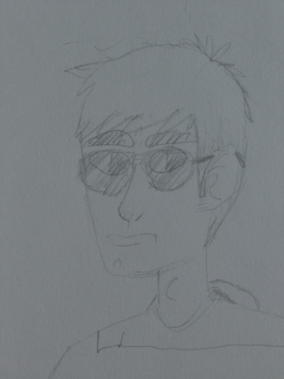 Dave Strider doodle by Omomon