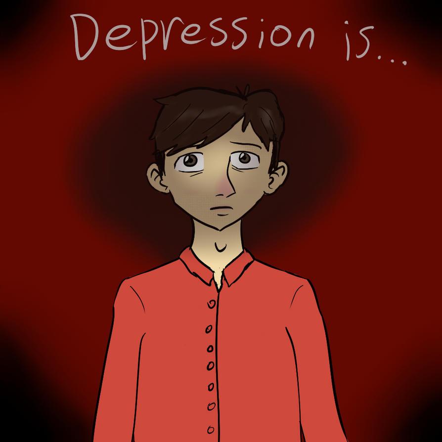 Depression is.. by Omomon