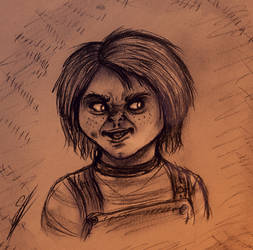 Portrait Of Chucky (Child's Play)