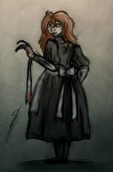 Lory Gray (Loreen Forbes) (IT OC) by Yulia-a-99