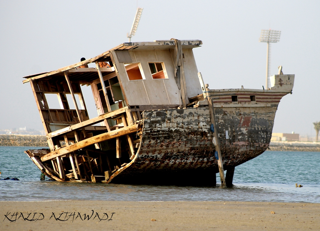 Half Ship - Bahrain by Khalid-AlThawadi