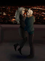 KotW Coloring - Jay + Toulouse by earthsprite