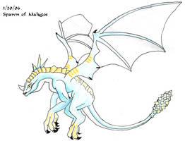 Old012006 - Spawn of Malygos by earthsprite
