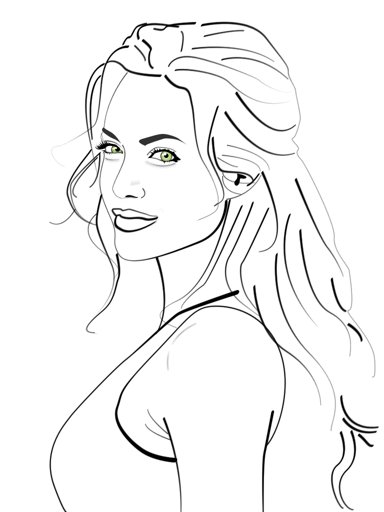 Line Art Design Illustration : Angelina jolie line drawing pixshark images
