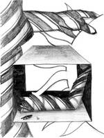 Candy Cane Girl +drawing+ by tekitsune