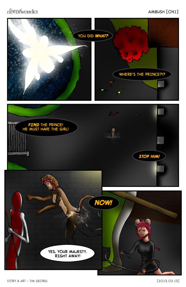 Beyond Neverwonder [041] Ambush by tekitsune