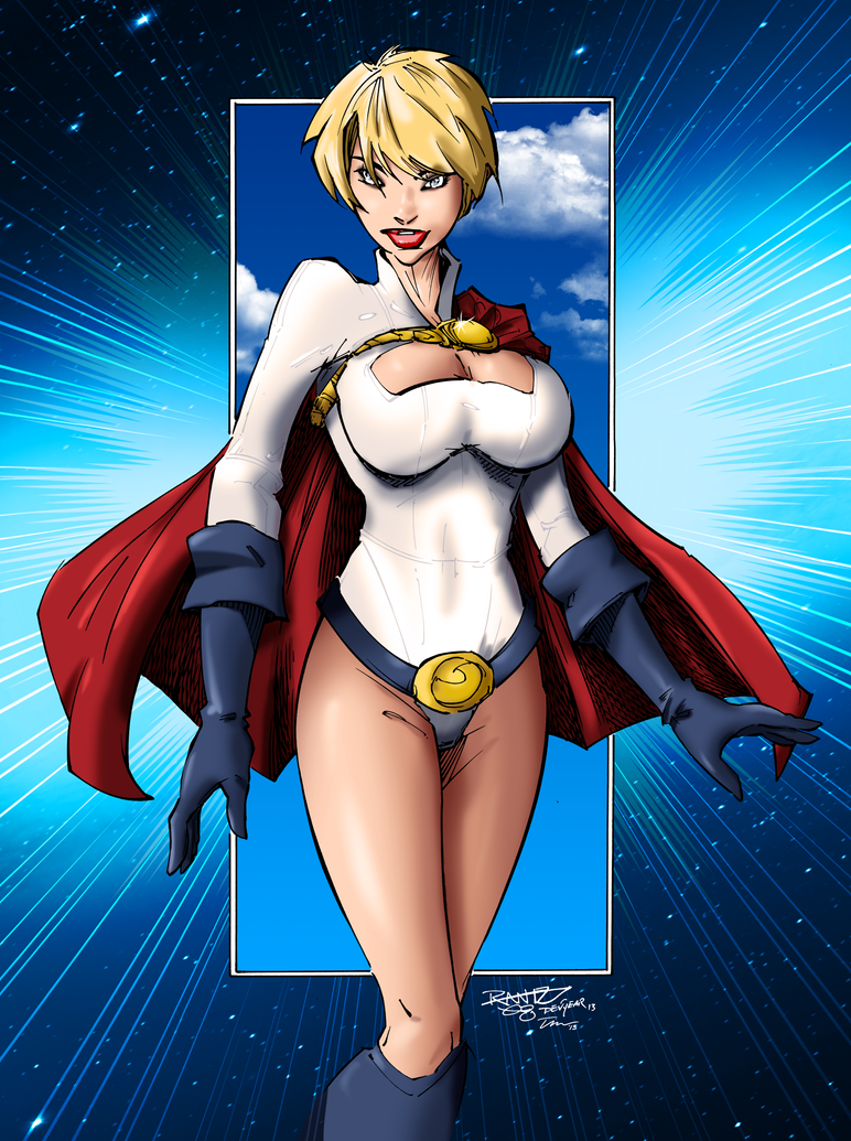 Power Girl by tekitsune