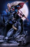 Batman and Supergirl