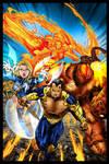 Ultimate X-Men / Fantastic Four Crossover Battle