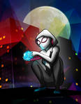 Spider-Gwen Finds the Tesseract