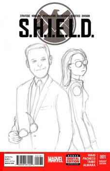 S.H.I.E.L.D. Sketchcover - WiP