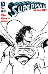 Death-and-Return Superman Sketchcover