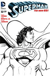 Death-and-Return Superman Sketchcover