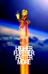 Higher. Further. Faster. More.